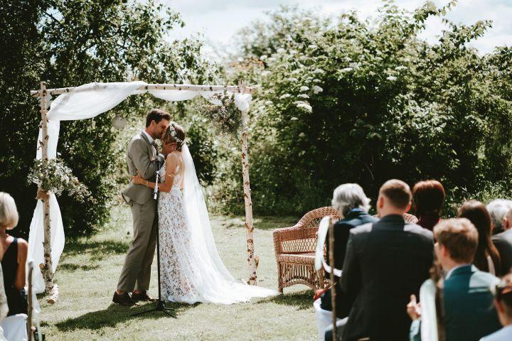 Traumhafte DIY-Hochzeit inDänemark